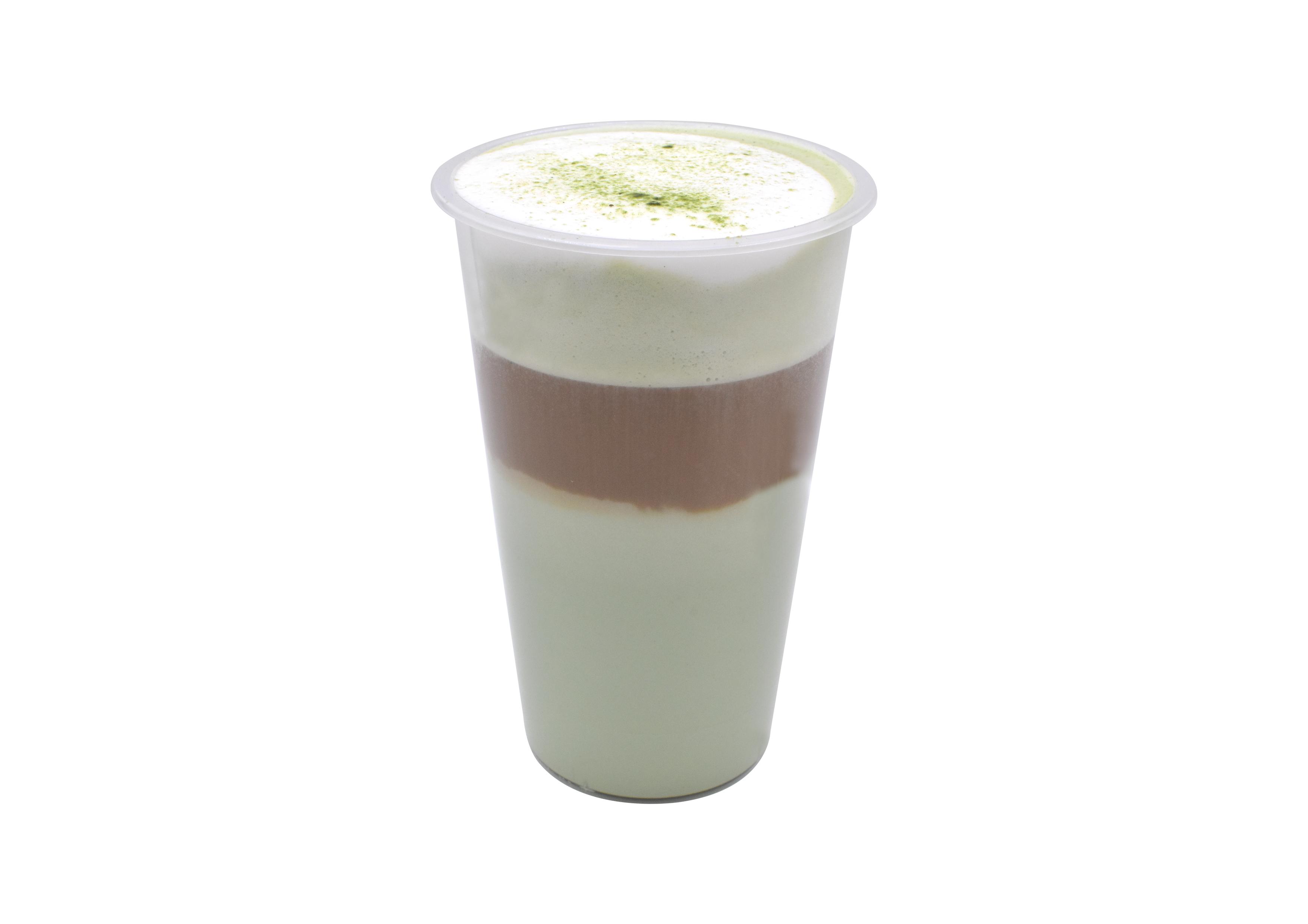 抹茶白巧拿铁(Matcha white chocolate latte)
