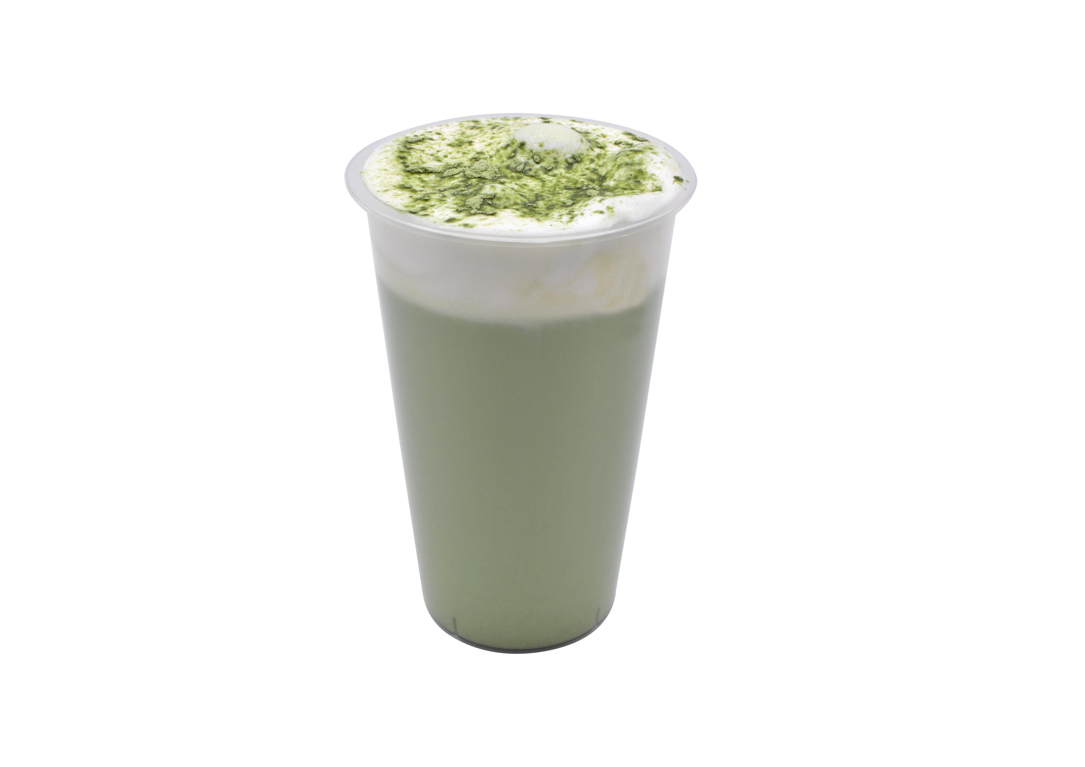 抹茶奶绿(Matcha milk green)